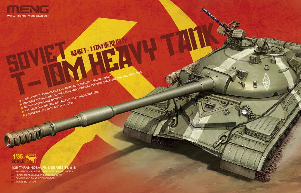 Meng 1/35 Soviet T-10M Heavy Tank