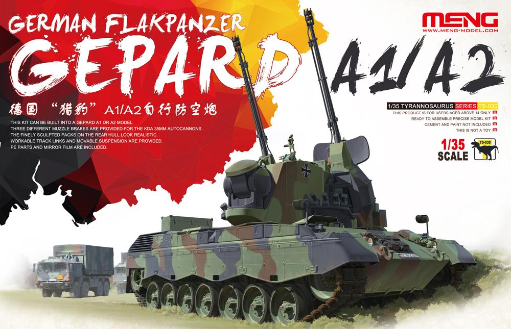 Meng 1/35 German Flakpanzer Gepard A1/A2