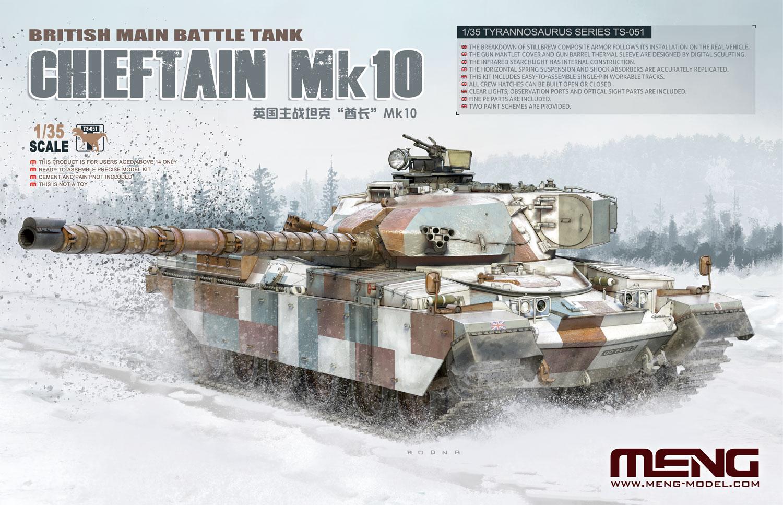 Meng 1/35 British Main Battle Tank Chieftain Mk10