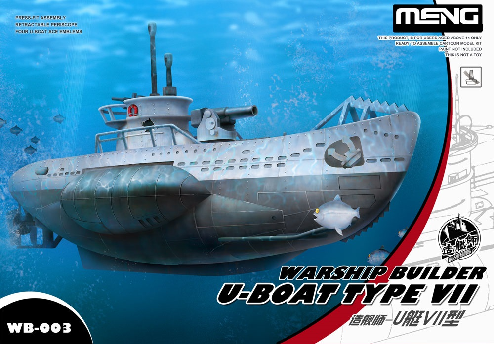 Meng Warshipbuilder - U-Boat Type Vii