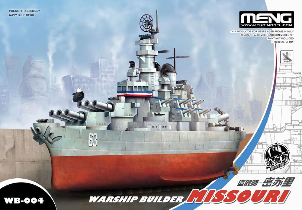 Meng Warship Builder Missouri