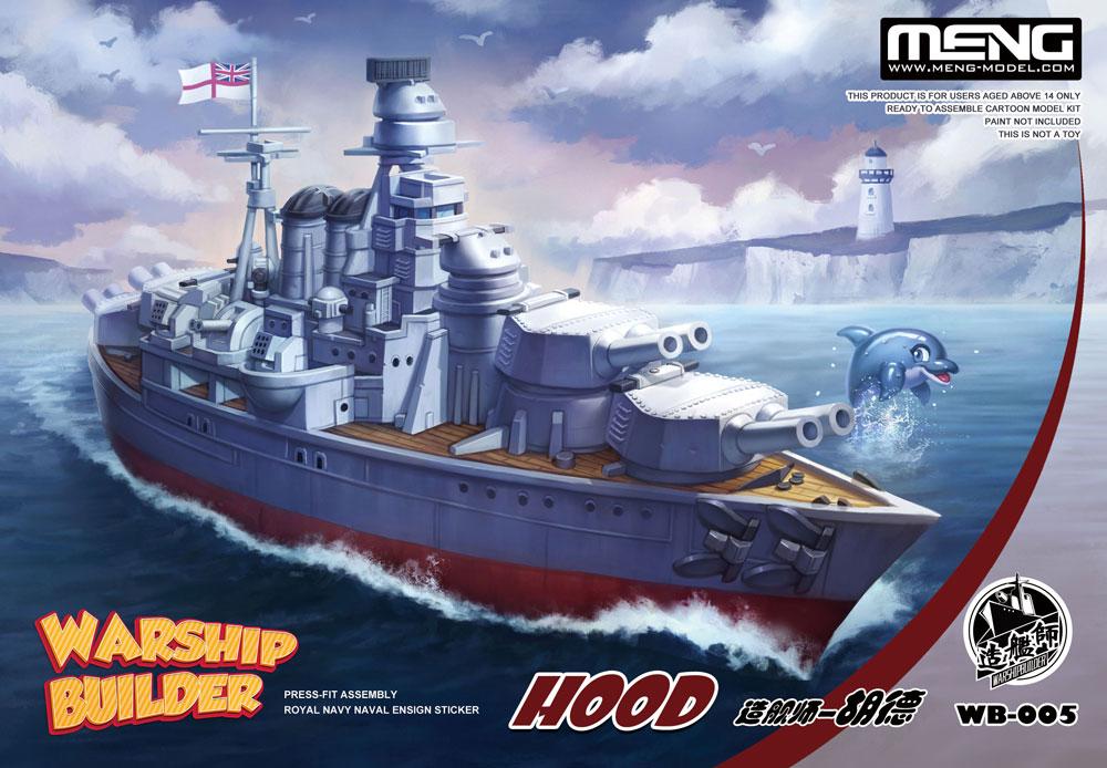 Meng Warship Builder Hood