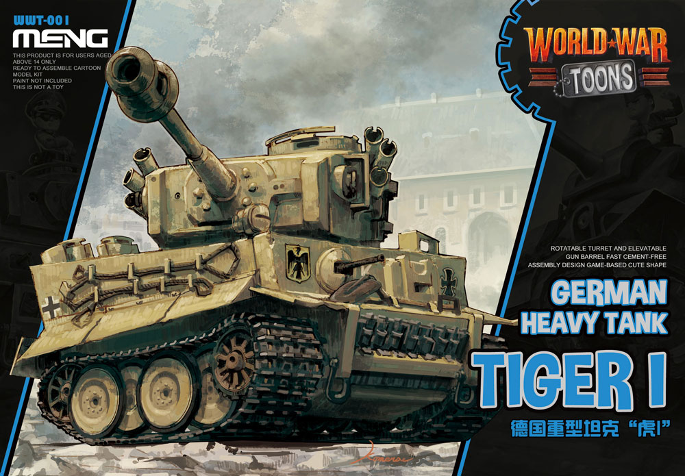 Meng German Heavy Tank Tiger I (CARTOON MODEL)