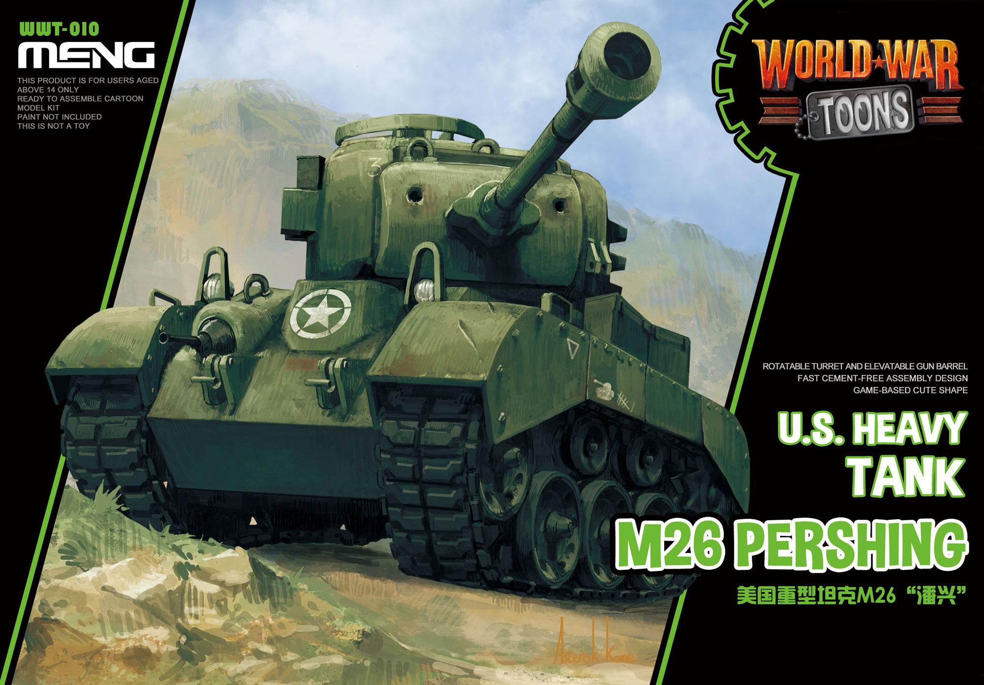 Meng U.S. Heavy Tank M26 Pershing