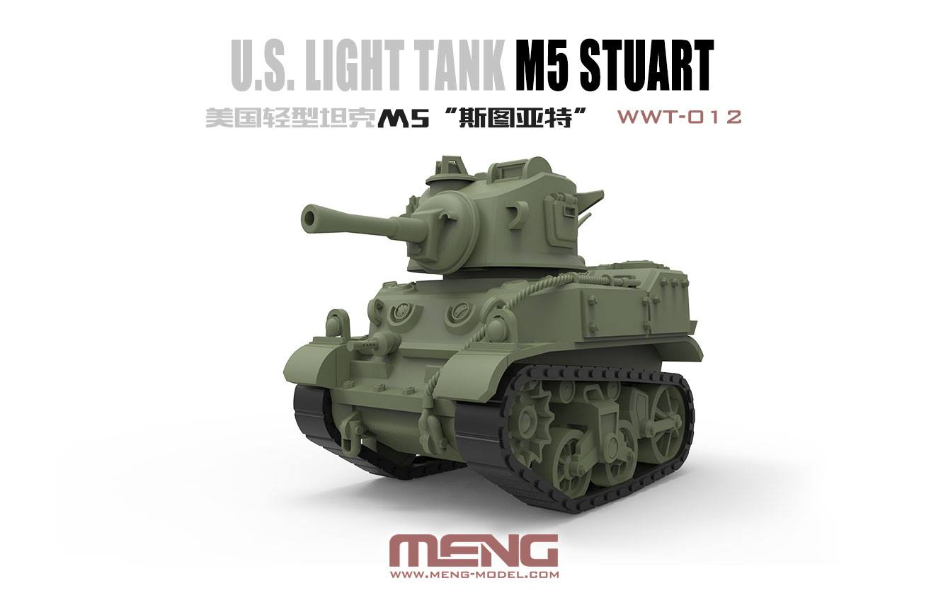 Meng U.S. Light Tank M5 Stuart (CARTOON MODEL)