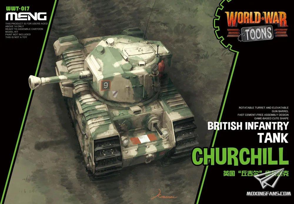 Meng World War Toons Churchill
