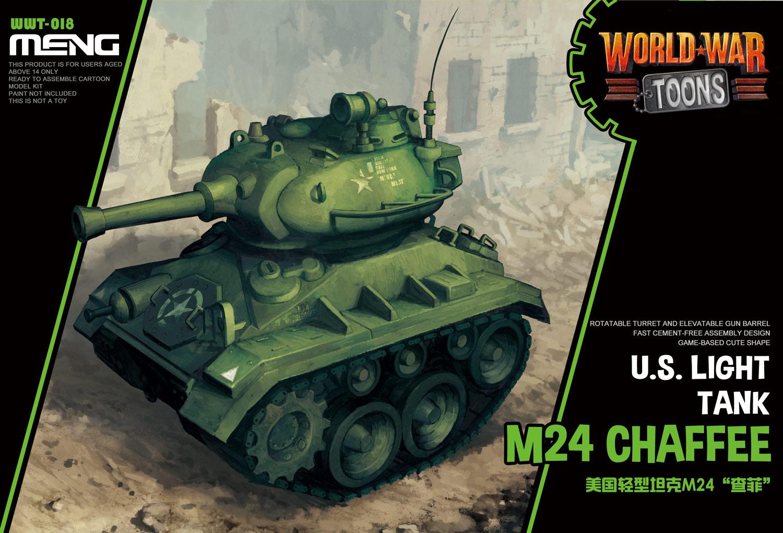 Meng U.S. Light Tank M24 Chaffee (Cartoon Model)