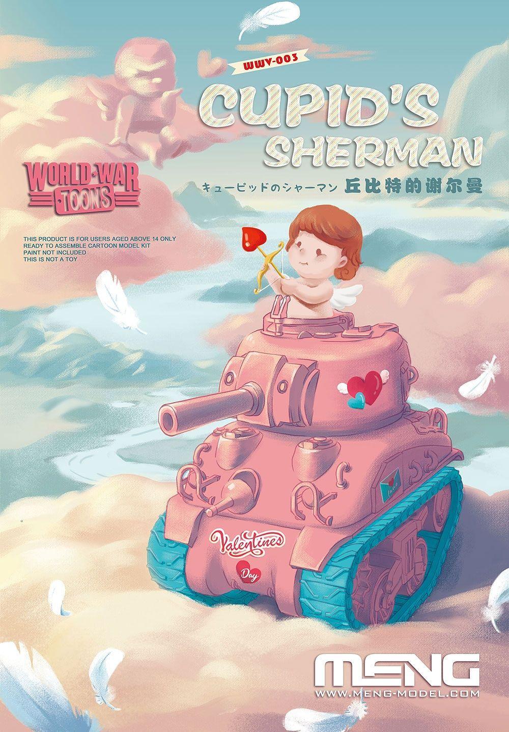 Meng World War Toons Cupid`s Sherman