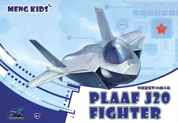 Meng PLAAF J20 Fighter (CARTOON MODEL)