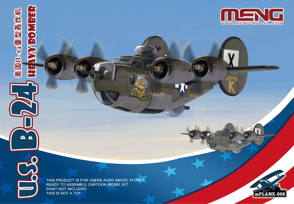 Meng US B-24 HEAVY BOMBER