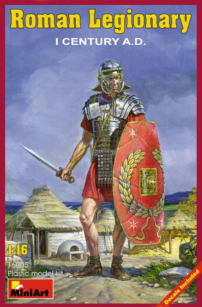 MiniArt Roman Legionary. I century A.D. (1/16)