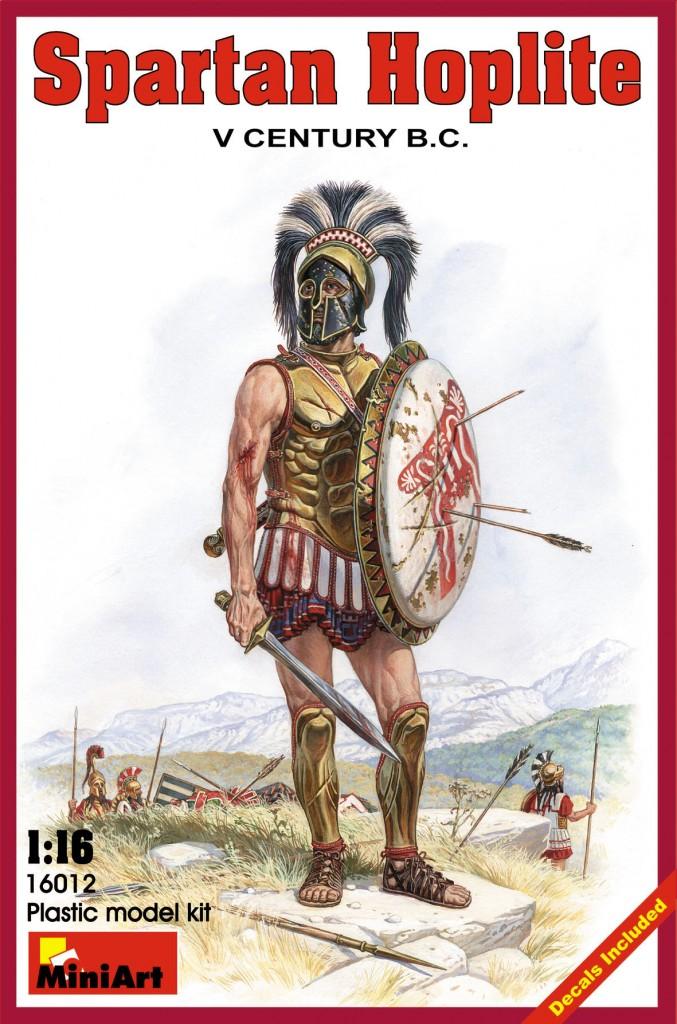 MiniArt Spartan Hoplite. V century B.C. (1/16)