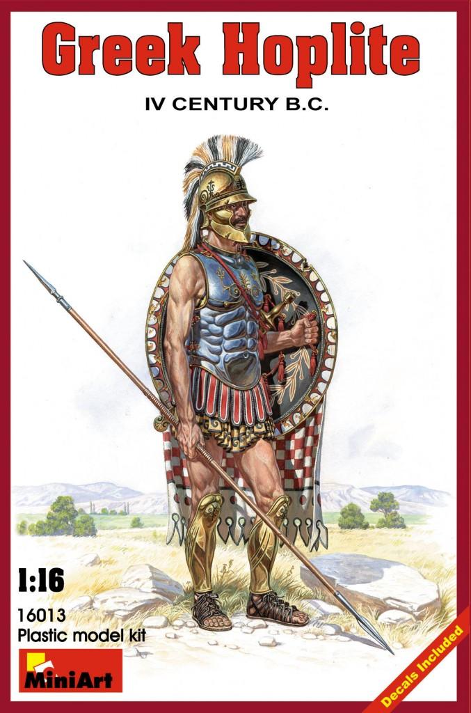 MiniArt Greek Hoplite. IV century B.C. (1/16)