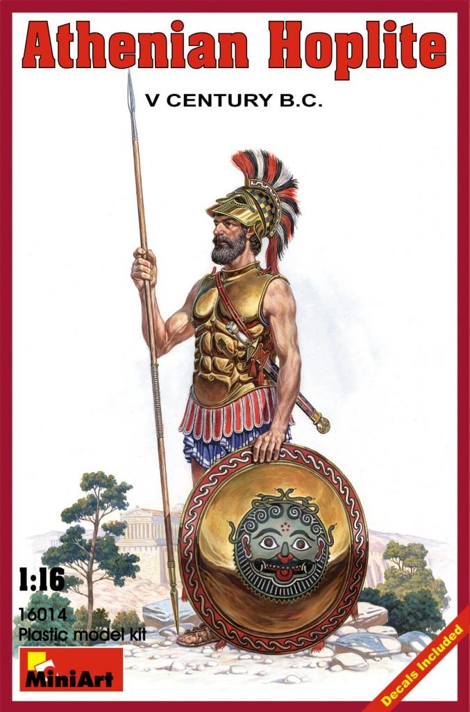 MiniArt 1/16 Athenian Hoplite. V century B.C.