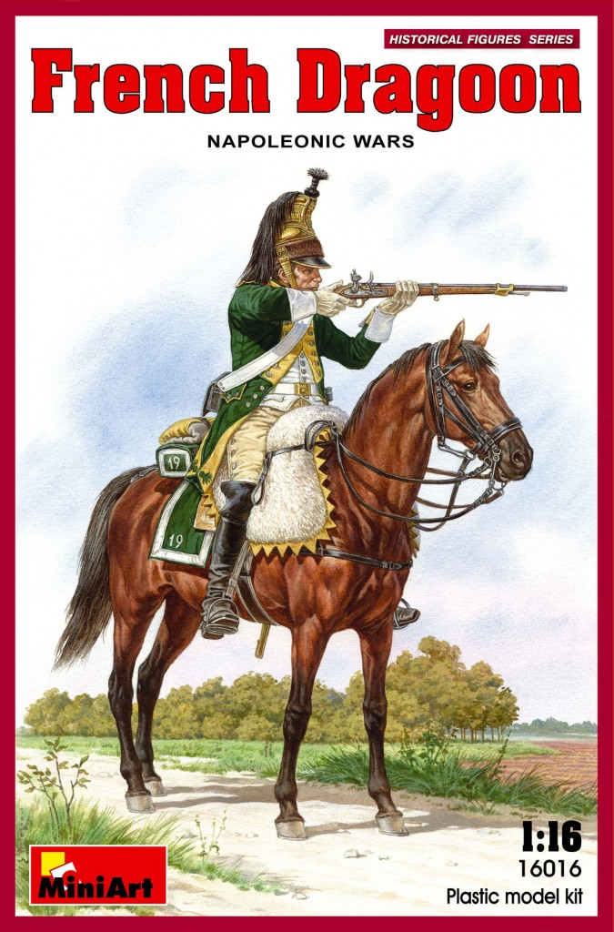 MiniArt French Dragoon. Napoleonic Wars. (1/16)