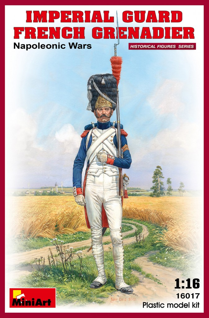 MiniArt Imperial Guard French Grenadier. Napoleonic Wars. (1/16)