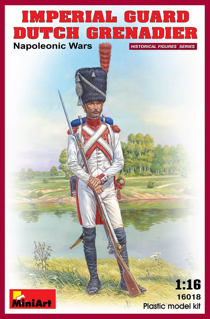 MiniArt Imperial Dutch Grenadier. Napoleonic Wars. (1/16)