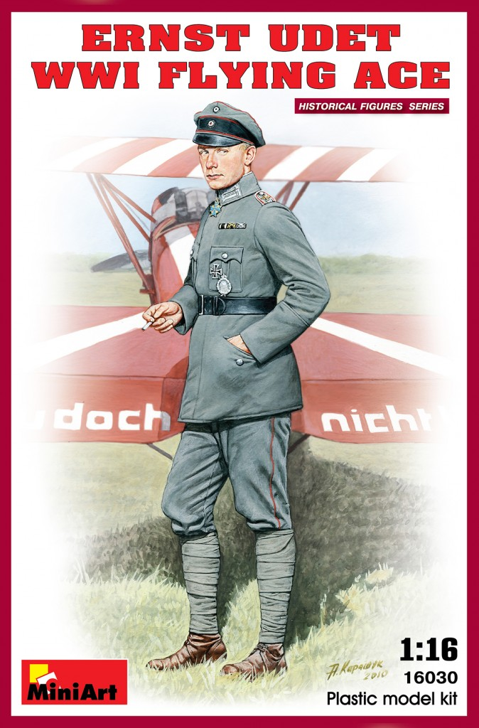 MiniArt Ernst Udet. WW1 Flying Ace (1/16)