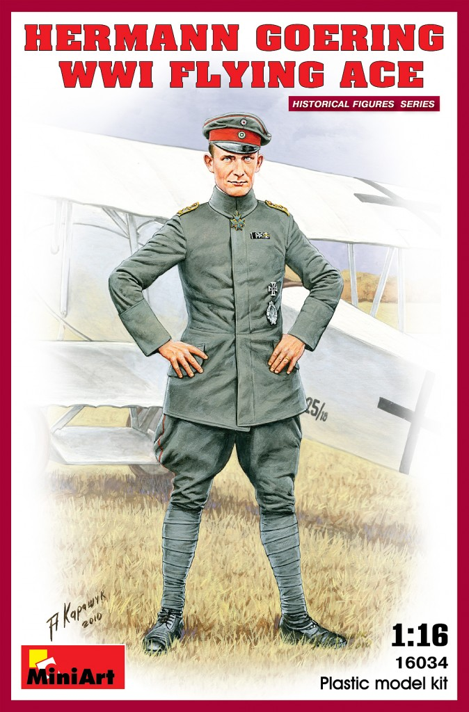 MiniArt Hermann Goering. WW1 Flying Ace (1/16)