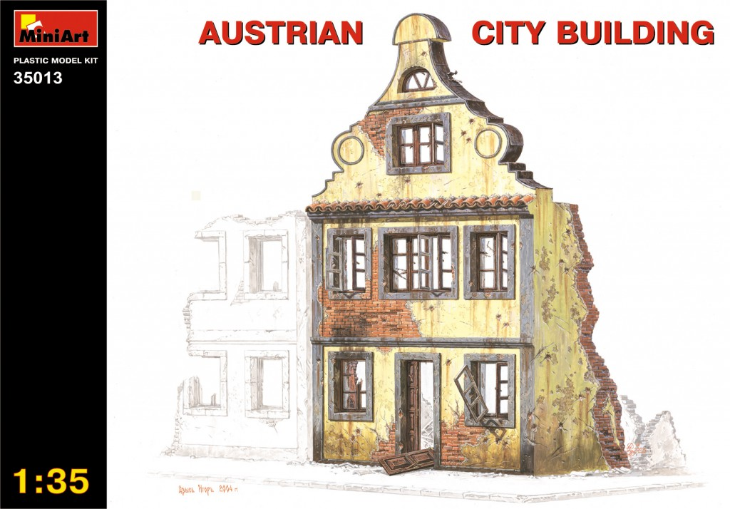 MiniArt Austrian City Building (1/35)