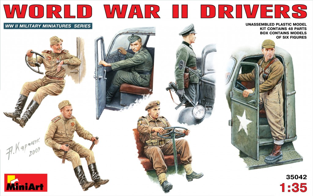 MiniArt WW II Drivers (1/35)