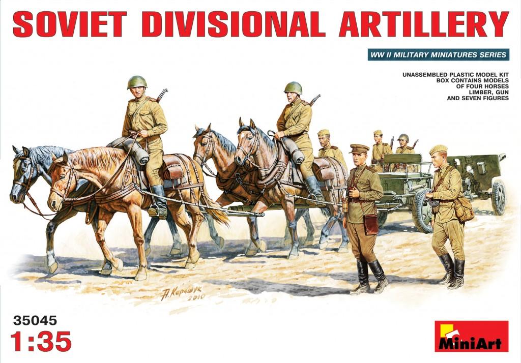MiniArt Soviet Divisional Artillery (1/35)