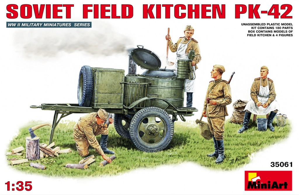 MiniArt Soviet Field Kitchen KP-42 (1/35)