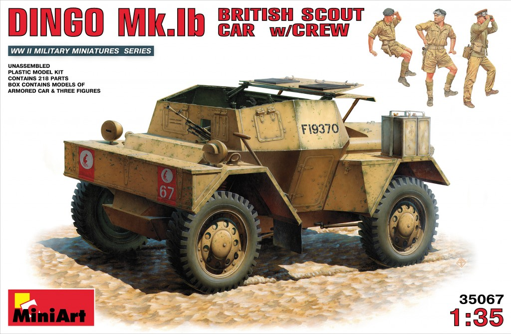 MiniArt British Scout Car Dingo MK. 1b (1/35)