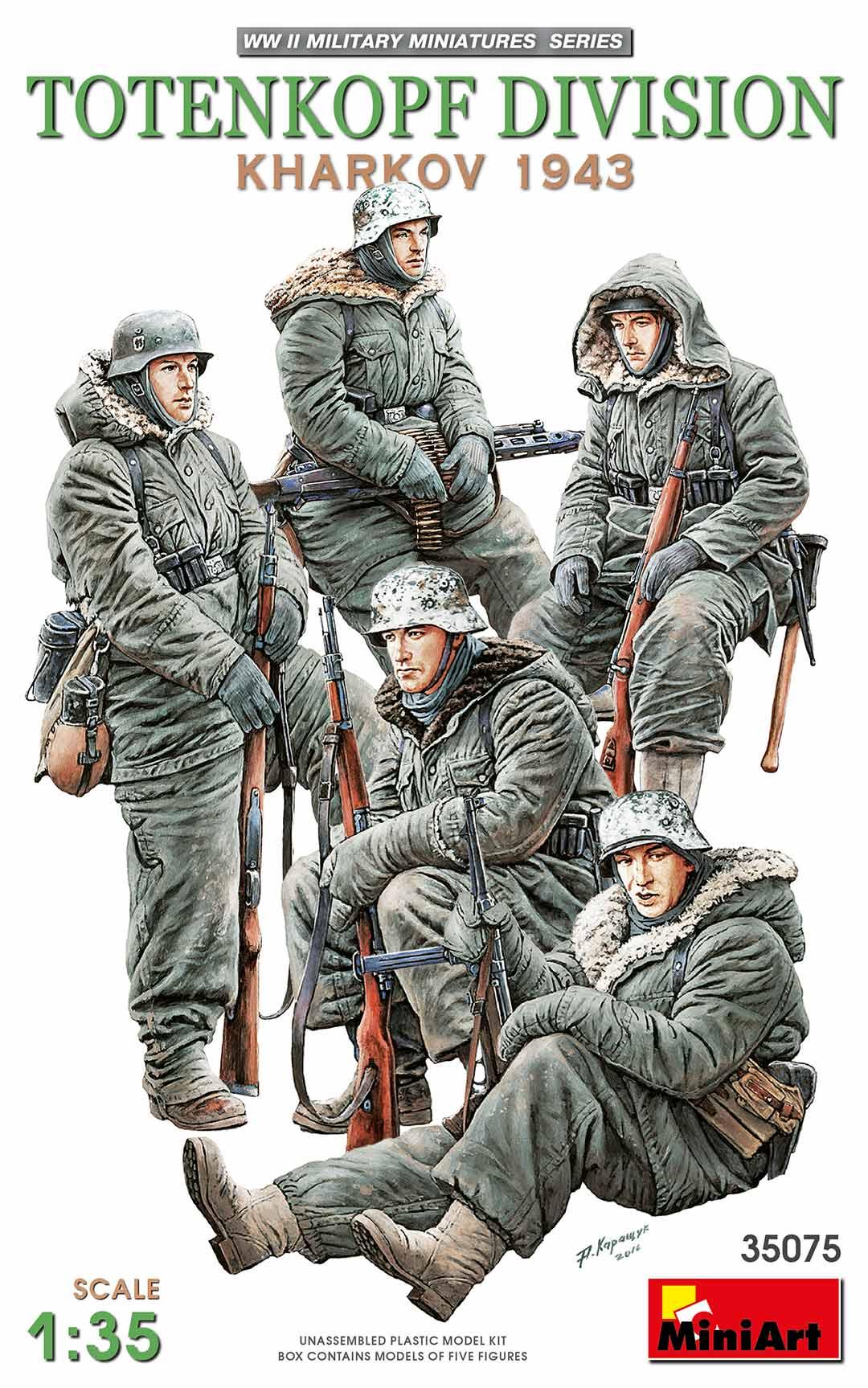 Miniart Totenkopf Division ( Kharkov 1943 ) (1/35)