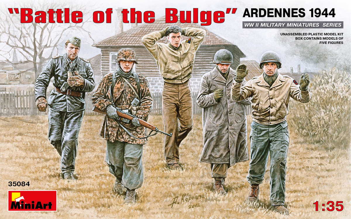 MiniArt Battle of the Bulge Ardennes 1944 (1/35)