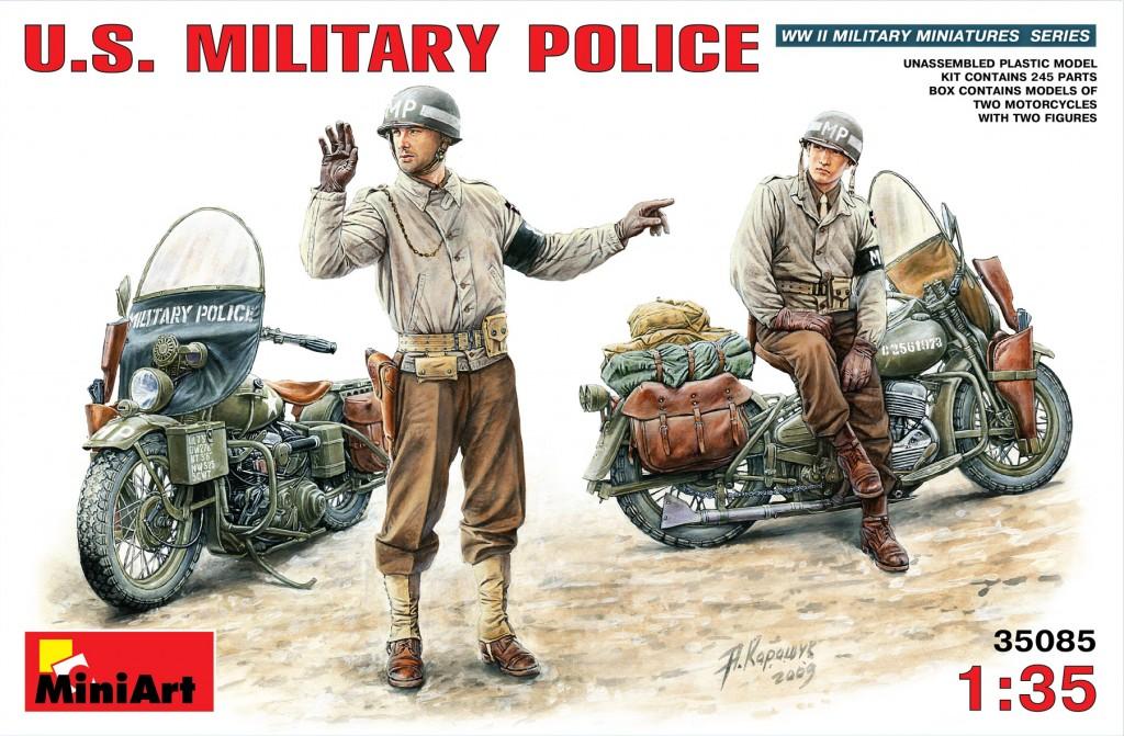 MiniArt U.S. Military Police (1/35)