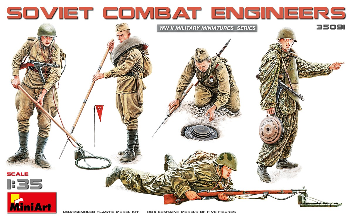 MiniArt Soviet Combat Engineers (1/35)