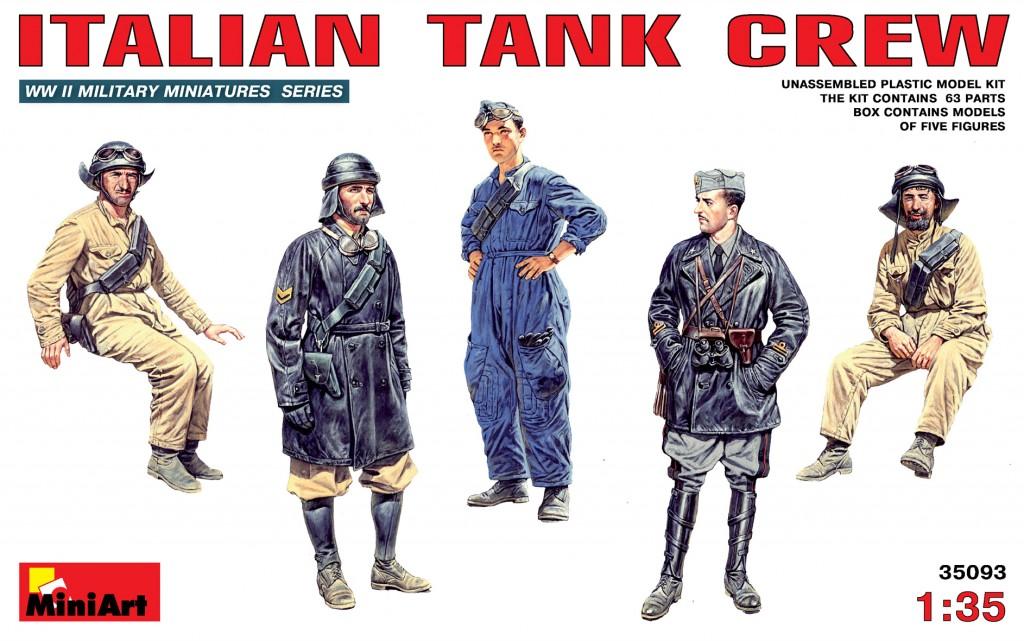 MiniArt Italian Tank Crew (1/35)
