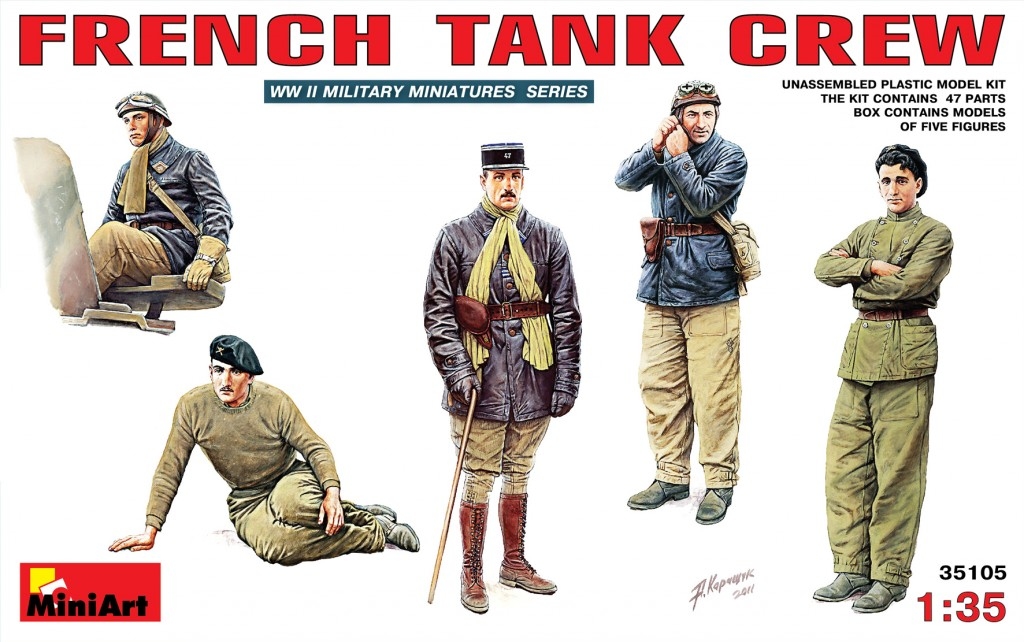MiniArt French Tank Crew (1/35)