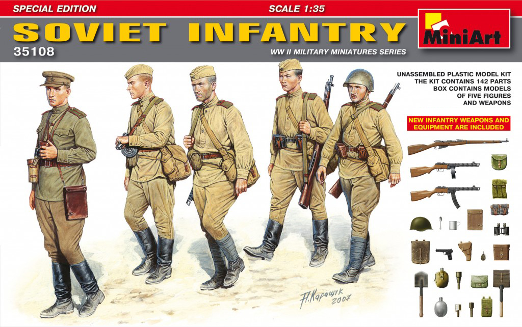 MiniArt Soviet Infantry. Special Edition (1/35)