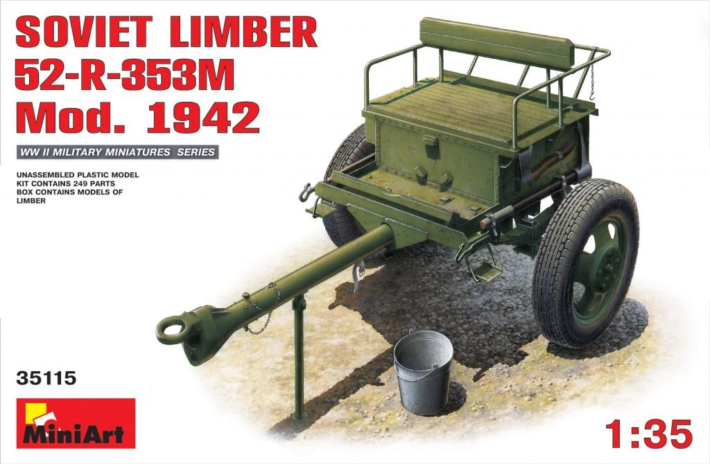 MiniArt Soviet Limber 52-R-353M Mod.1942 (1/35)