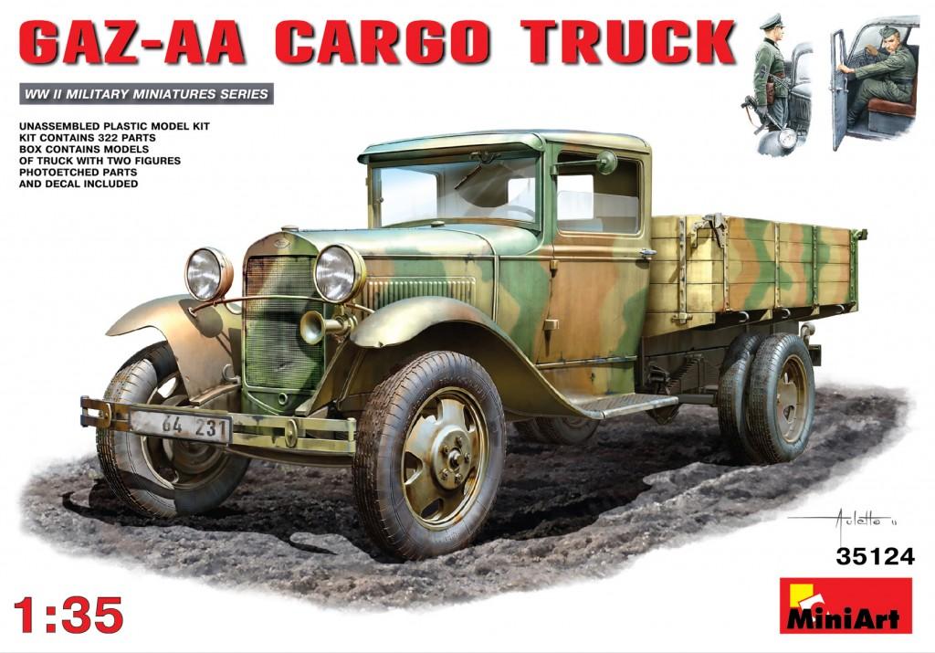 MiniArt GAZ-AA ?argo Truck (1/35)