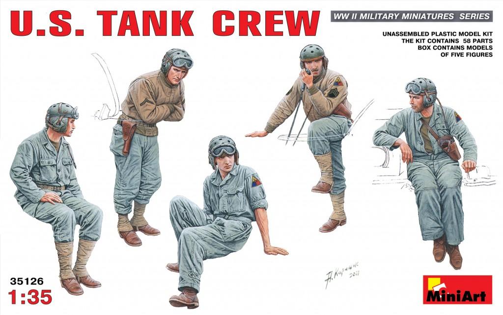 MiniArt U.S. Tank Crew (1/35)