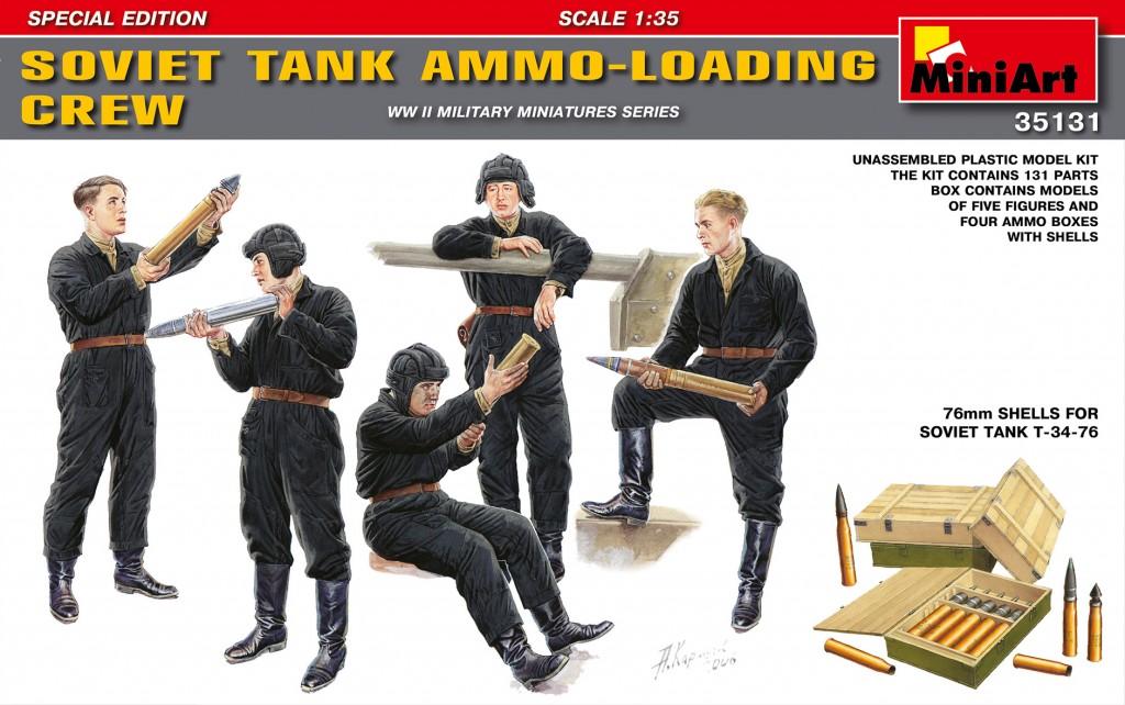 MiniArt Soviet Tank Ammo-Loading Crew Set. Special Edition (1/35)