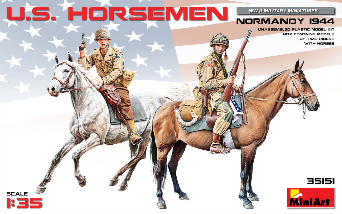 MiniArt U.S. Horsemen. Normandy 1944 (1/35)