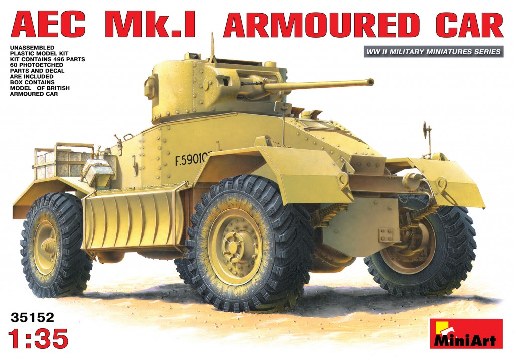MiniArt AEC Mk 1 Armoured Car (1/35)