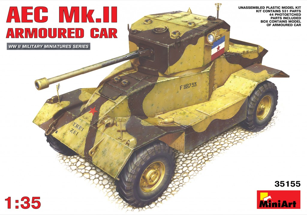 MiniArt AEC Mk 2 Armoured Car (1/35)