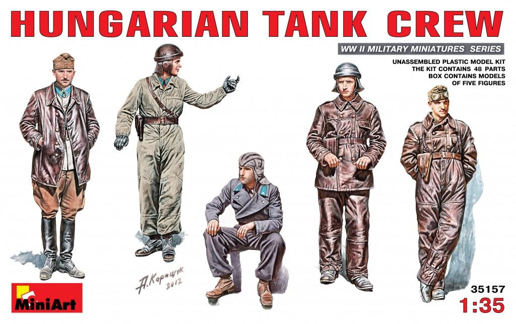 MiniArt Hungarian Tank Crew (1/35)