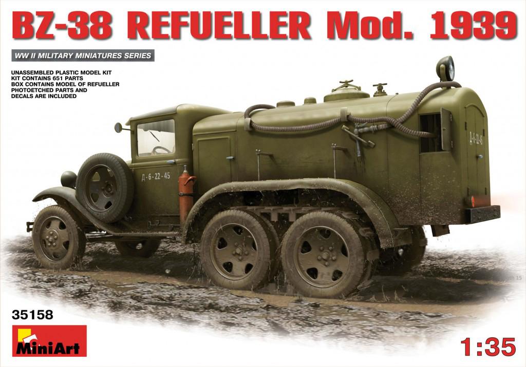 MiniArt BZ-38 Refueller Mod. 1939 (1/35)