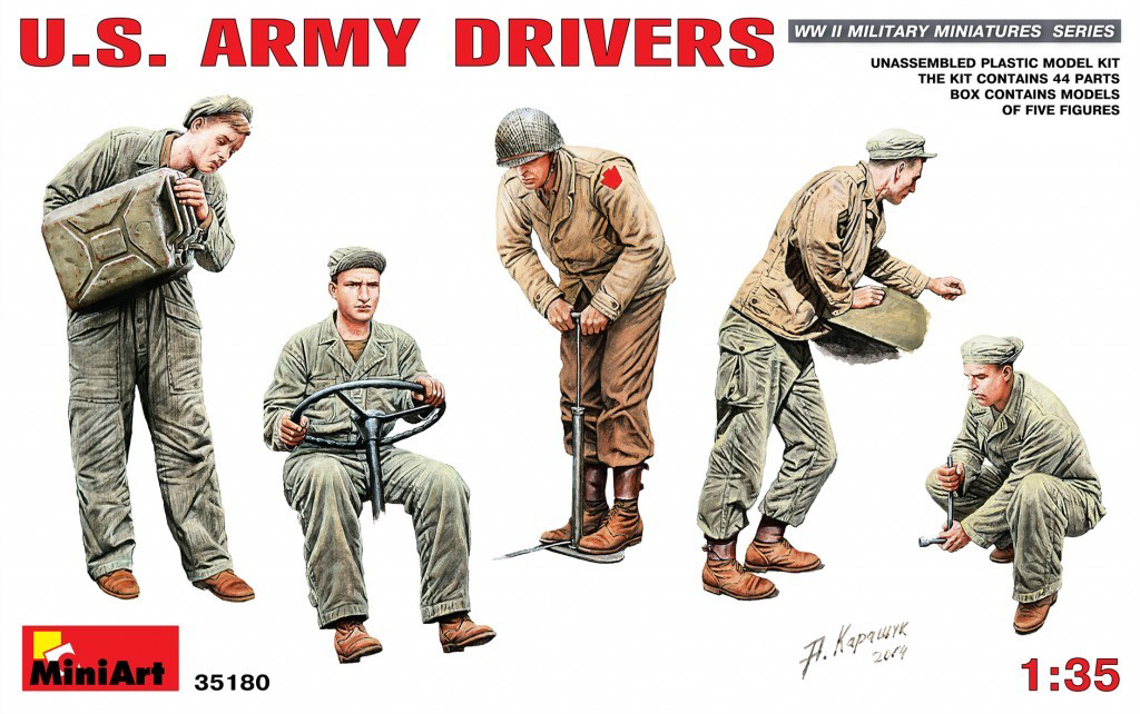 MiniArt U.S. Army Drivers (1/35)