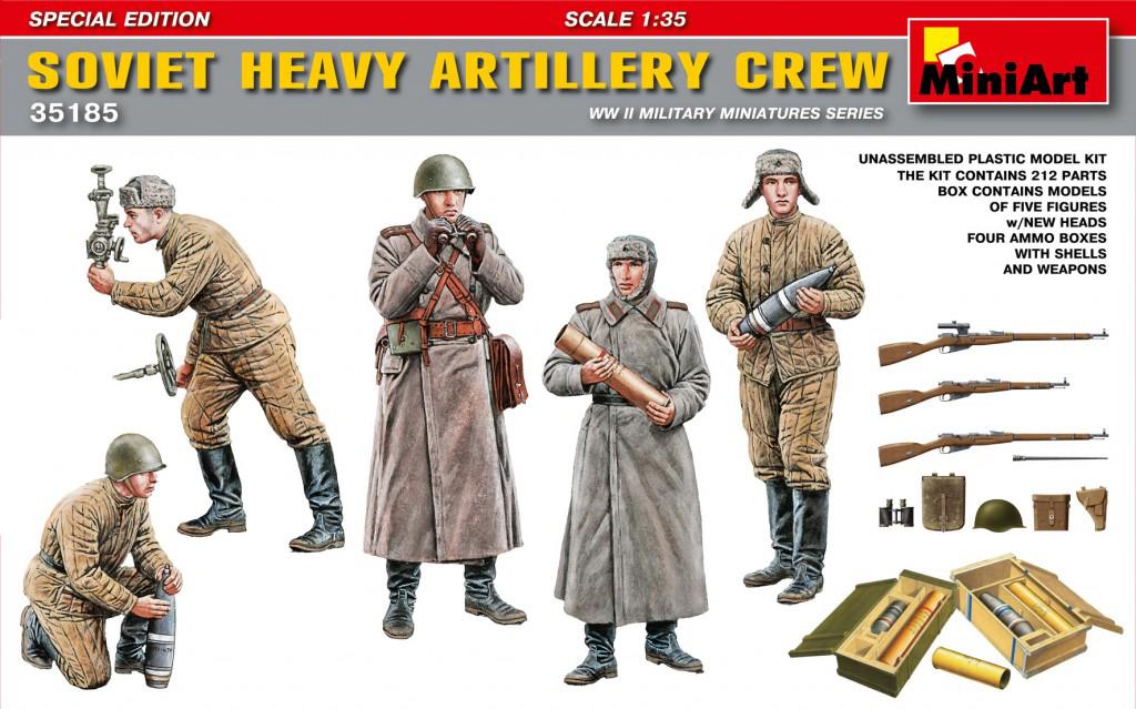 MiniArt Soviet Heavy Artillery Crew.Special Edition (1/35)