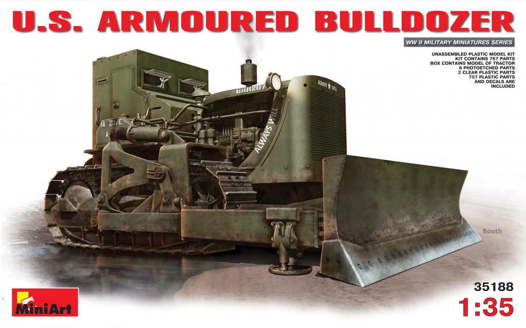 MiniArt U.S. Armoured Buldozer (1/35)