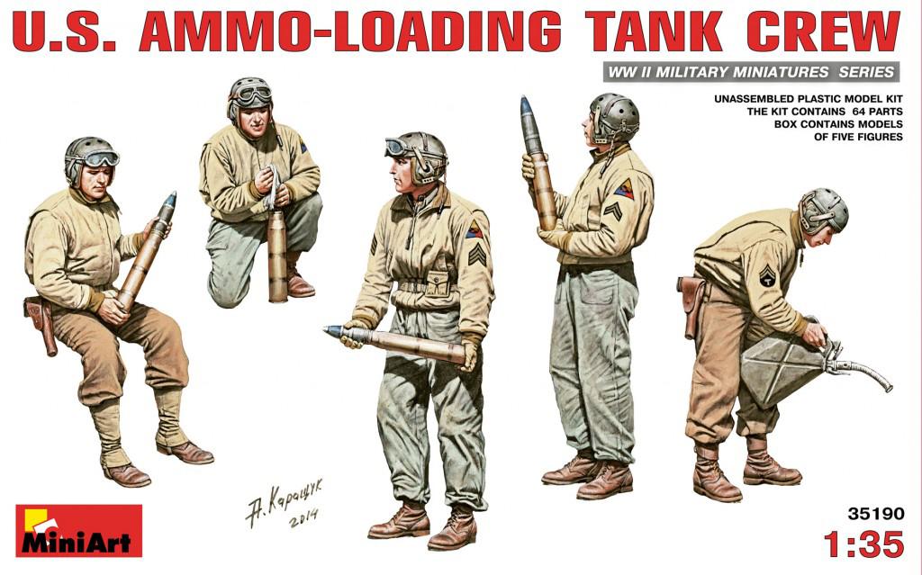 MiniArt U.S. Ammo-Loading Tank Crew (1/35)