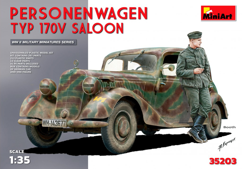 MiniArt Personenwagen Typ 170V Saloon (1/35)