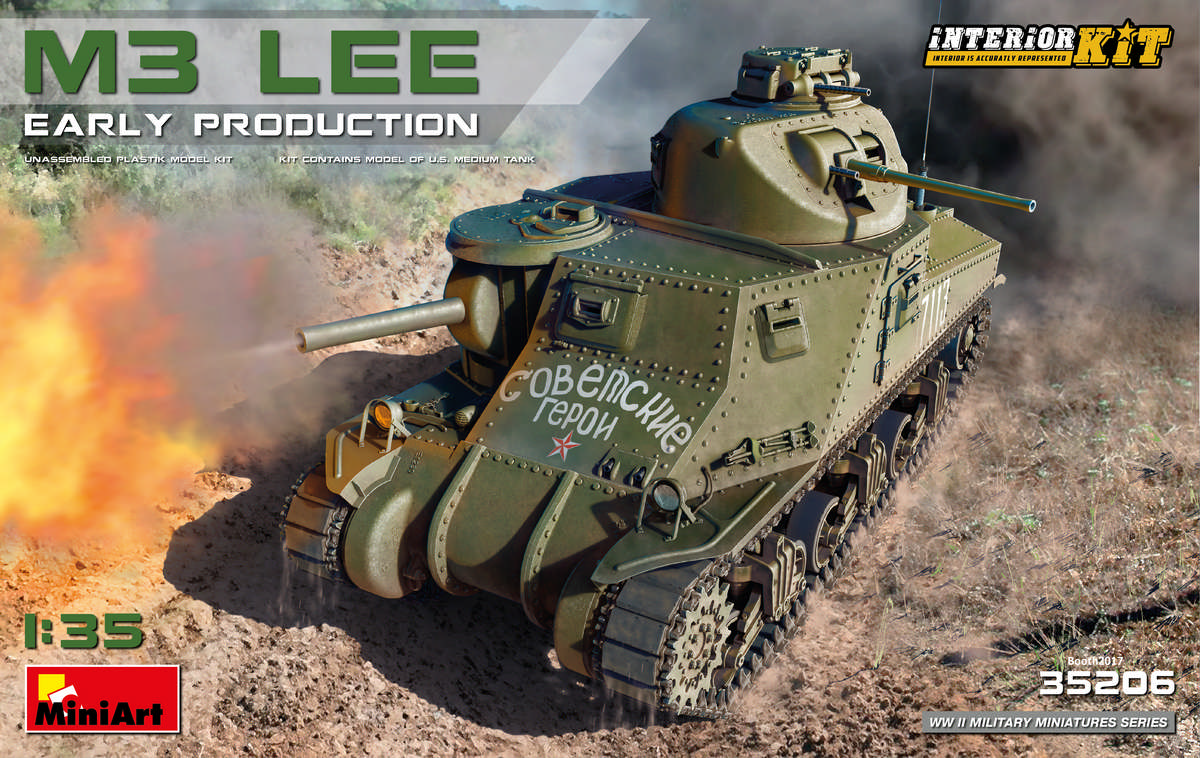 MiniArt M3 Lee Early Prod. Interior Kit (1/35)